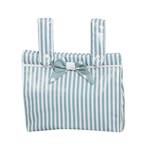 Babyline Carrusel - Bolso panera para silla de paseo, color verde