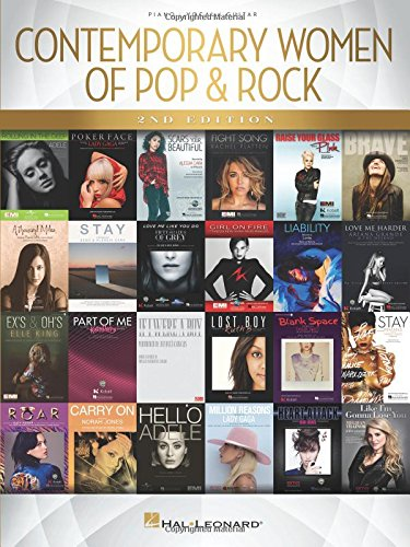 Compare Textbook Prices for Contemporary Women of Pop & Rock PIANO, VOIX, GU 2 Edition ISBN 0888680698225 by Hal Leonard Corp.