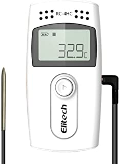 Elitech RC-4HC USB Temperature and Humidity Data Logger 16000 Points Record Capacity