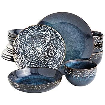 double bowl dinnerware set