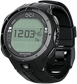 Oceanic OCi Personal Wrist Dive Computer USB With Transmitter, Black Out