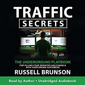 Traffic Secrets by Russell brunson book cover