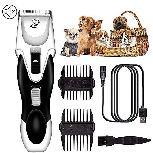 Pet Grooming Clippers Electric Dog Clipper Set Tondeuse Hond, Dierbenodigdheden USB Oplaadbaar Ultrastil voor Kleine Middelgrote Honden, Katten