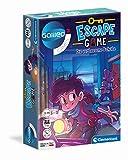 Clementoni 59228 Escape Game – Die verlassene Schule, spannendes Gesellschaftsspiel zum Knobeln & Rätseln, Hinweiskarten und Requisiten, Familienspiel ab 8 Jahren zu Weihnachten