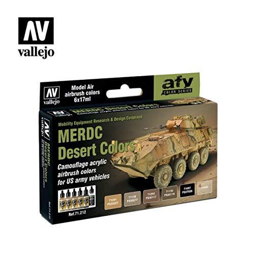 Vallejo Model Air set–US Merdc Desert Colors