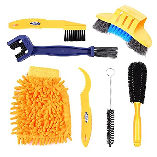 Bike Cleaning Brush Tool Kit Set (Chain Cleaning Brush Set)