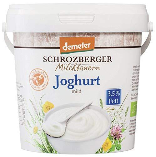 Schrozberg Bio Joghurt mild 3,5% (6 x 1 kg)
