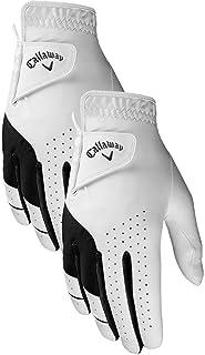 Callaway Golf Men's Weather Spann Premium Japanese Synthetic Golf Glove, 2 Pack