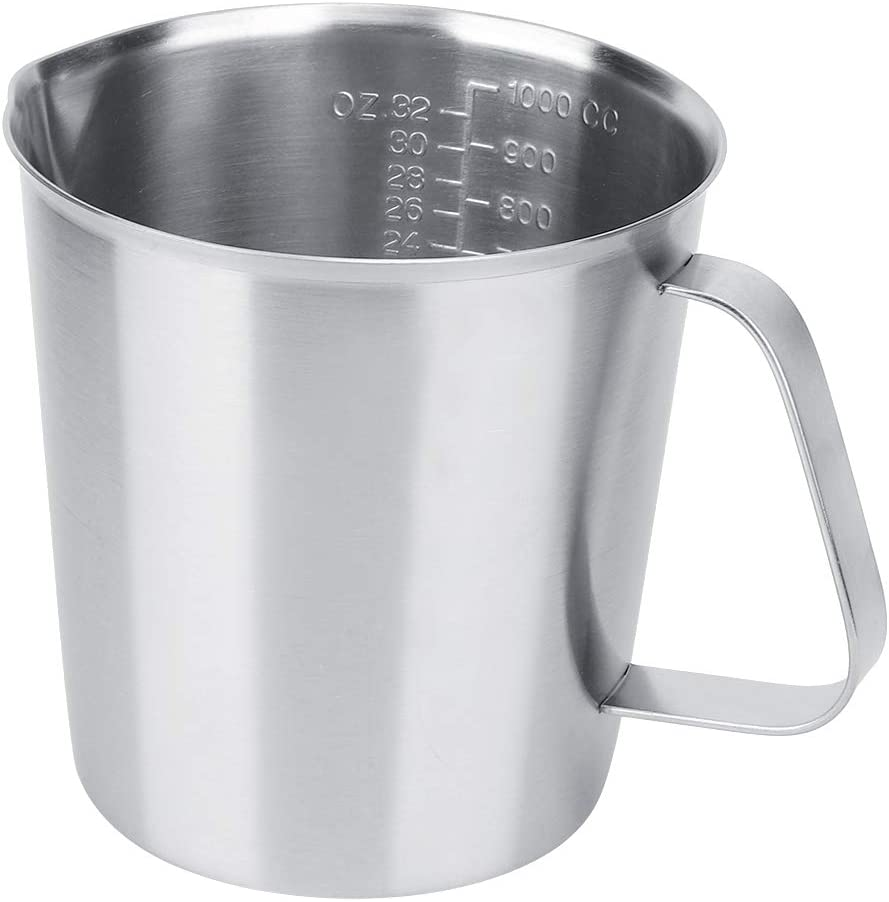 stainless steel Milk Frothing Jug Coffee Pitcher ergonomically d