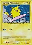 Pokemon Platinum Rising Rivals Single Card Surfing Pikachu #114 Holo Rare [Toy]