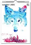 artboxONE Kalender 2020 Lone Wolf Wandkalender A3 Tiere