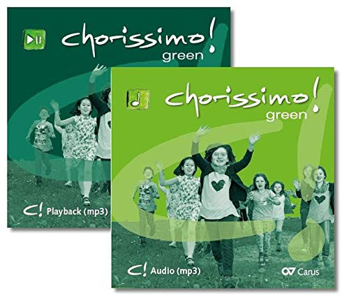 chorissimo! green. Medien-Set: Playback + Audio-CD (chorissimo / Musikpädagogische Publikationen für Stimmbildung, Kinder- und Jugendchor)