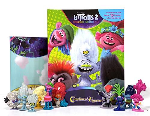 Phidal- DreamWorks Trolls 2 Cuentas y Figuras, Francés, Multicolor