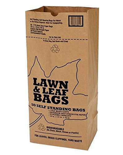 Cheapest Prices! Duro Bags 21089 2-Ply Garbax Lawn and Leaf Bag, 50 lb, 16 in L x 12 in W x 35 in D,...