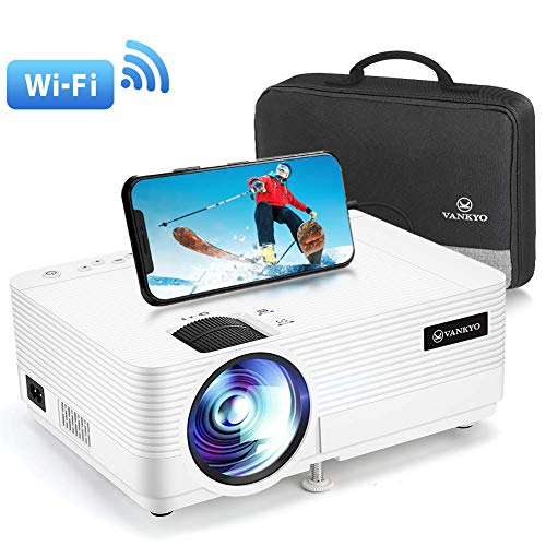 VANKYO Leisure 470 Mini Projector with Synchronize Smart Phone Screen, Full HD...