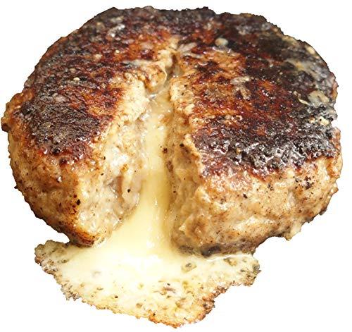 bonbori (ぼんぼり) 究極のひき肉で作る 牛100% チーズinハンバーグステーキ (200g × 8個入り ソース無し) 無添加 冷凍 レトルト