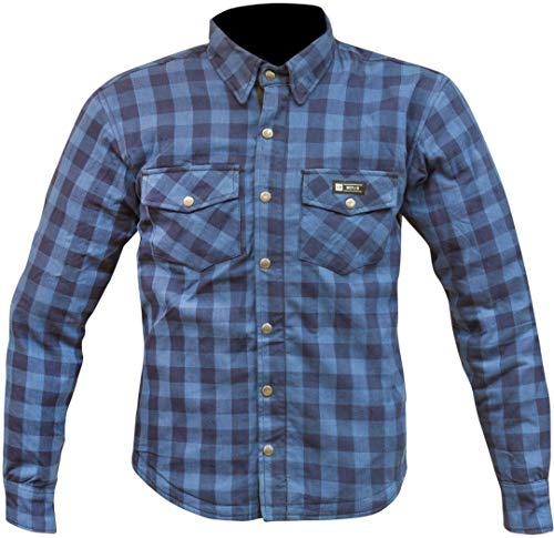 Merlin Axe Motorrad Textiljacke Blau M