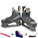 Eishockey-Schuhe, Hockey-Training, Hockey-Spiel, Profesionales, Rollschuhe, Erwachsene, Kinder, Schlittschuhe mit Klingenschutz, Spitzenwerkzeug und Tasche