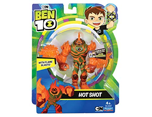 Ben 10 BEN39710 Action Figure - Hot Shot