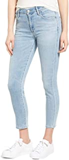 Rocket High Rise Skinny Crop Light Wash Jeans Oracle – 32