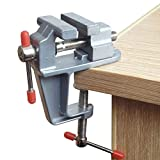 Fashionclubs Mini Table Vice Craft Bench Vise Work Bench Clamp Swivel Vice Hobby Craft Repair Tool
