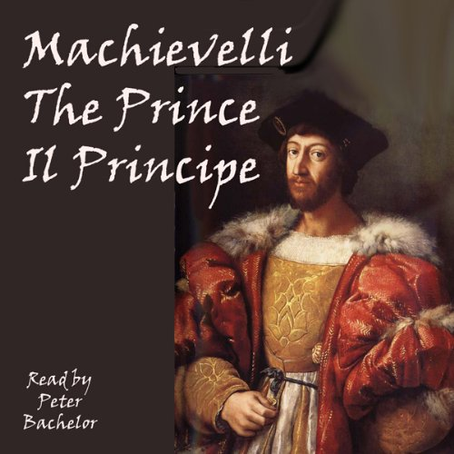 The Prince: The Strategy of Machiavelli audiobook cover art