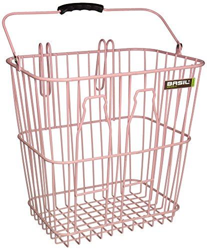 Basil Fahrradkorb Bottle Basket, Soft Pink, One Size