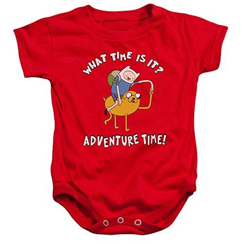 Adventure Time - - Ride Bump Onesie pour Tout-Petit, 12 Months, Red