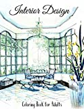 Interior Design Coloring Book For Adults