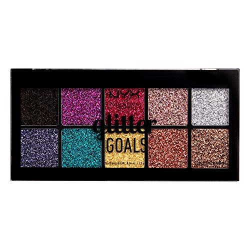 NYX Professional Make Up Glitter Goals Palette...