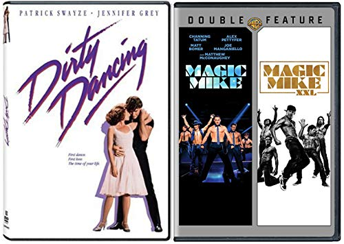 The Dirty Magic Dancing Collection - Magic Mike DVD, Magic Mike XXL & Dirty Dancing 3-Movie Bundle Channing Tatum &