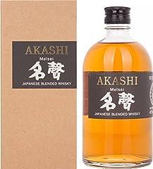 Akashi Meisei Japanese Blended Whisky 50cl