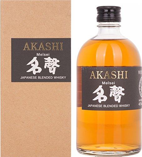 Akashi Coffret Cadeau Japonais Meisei Whisky 0,5 L
