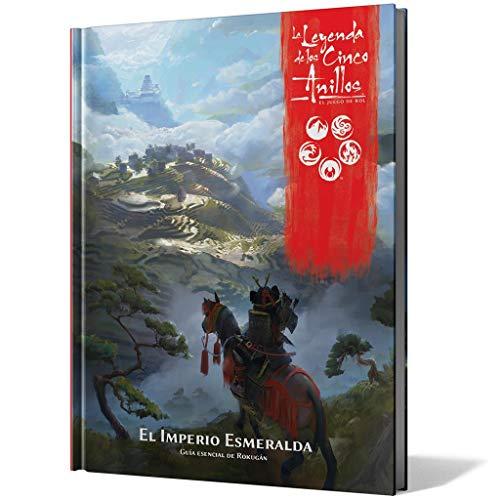 la Leyenda de los Cinco Anillos el Juego de rol 5º Edición - El Imperio Esmeralda - Reúne a Tus Amigos y conviértete en un samurái del Imperio Esmeralda