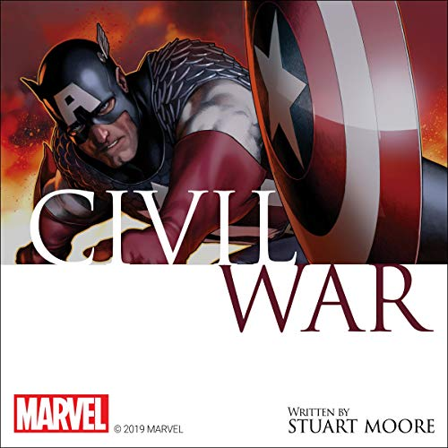 Civil War audiobook cover art