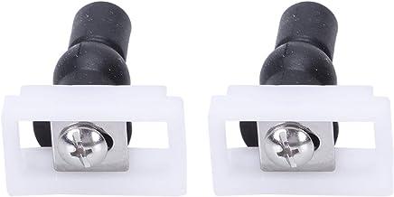 Fltaheroo 2 stks DIY Plastic Toilet Schroeven Bevestigingen Fit Toilet Stoelen Scharnieren Reparatie Gereedschap Type & Gr...
