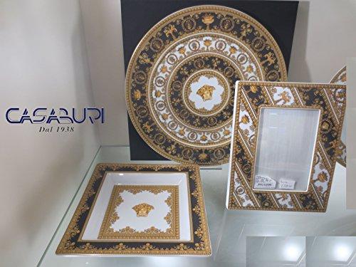 Versace . I Love Baroque Set 3 pièces Assiette 33 cm + Coupe 22 cm + Porte-photos 23 x 18 cm