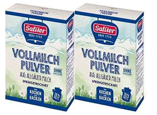 Saliter Alpen-Vollmilchpulver, 2er Pack (2 x 250g)