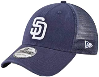New Era San Diego Padres Primary Logo Trucker 9Forty Adjustable Hat