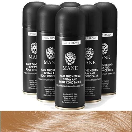 Mane Hair Thickening Spray 200 ml x 6 - Hazel