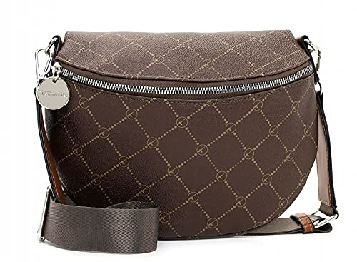 Tamaris Gürteltasche Anastasia 30705 Damen Handtaschen Print brown/cognac 207 One Size
