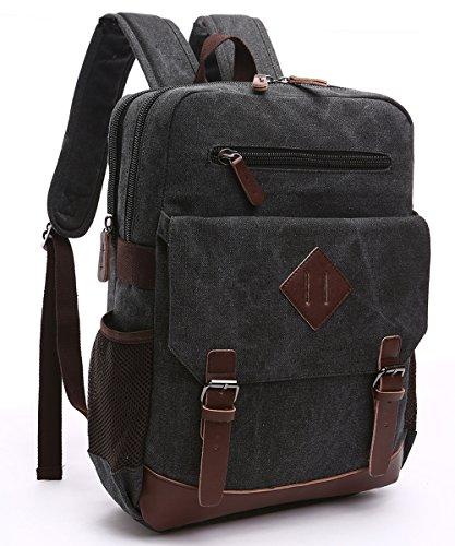 Cool Walker Vintage Canvas College Backpack School Bag Laptop Backpack Travel Bag Highgrade...