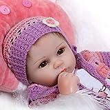 Pinky Reborn Muñecas 18 Pulgadas 45cm Muñecas Reborn Realistas Muñecas de Silicona Suave Bebe Reborn...