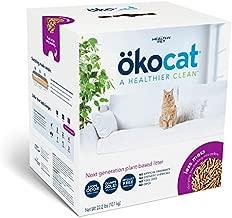 ökocat Natural Wood Cat Litter, 22.2-Pound, Clumping for Long Hair Breeds