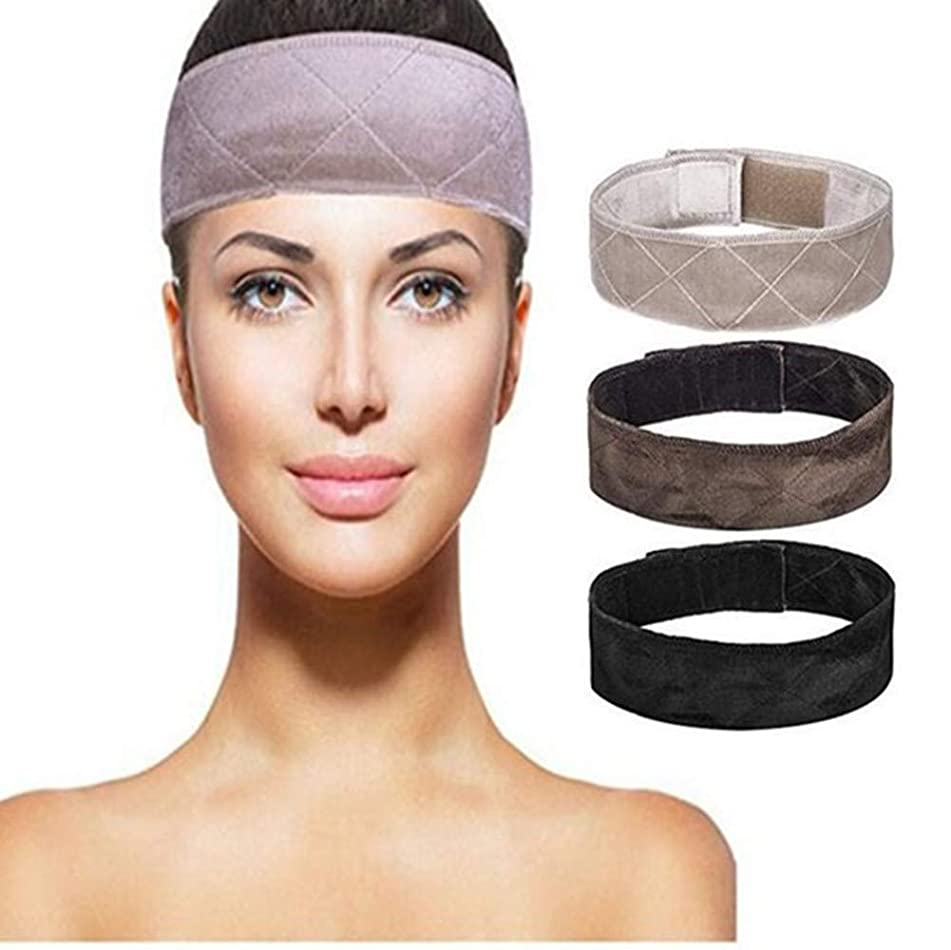 Wig Grip Band, 3pcs Wig Grip Headband Double Sided Velvet Comfort Wig Gripper Hair Band