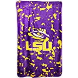 College Covers LSU Tigers Throw Blanket, 54'' x 84'''
