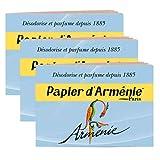 【パピエダルメニイ】トリプル 3×12枚(36回分) 3個セット アルメニイ 紙のお香 インセンス アロマペーパー PAPIER D'ARMENIE [並行輸入品]