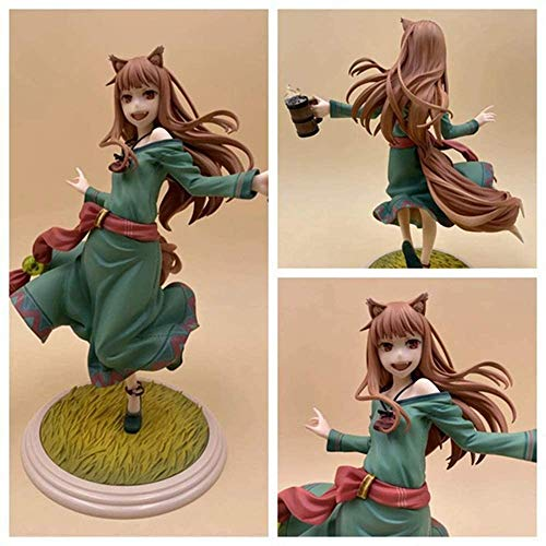 Kotee Anime Model Beautiful Girl 10th Anniversary 1/8 Wolf And Spice 5th Generation Boxed Figure 18cm Anime Figure Characters Statue Figurine Model Collection Toys Gift
