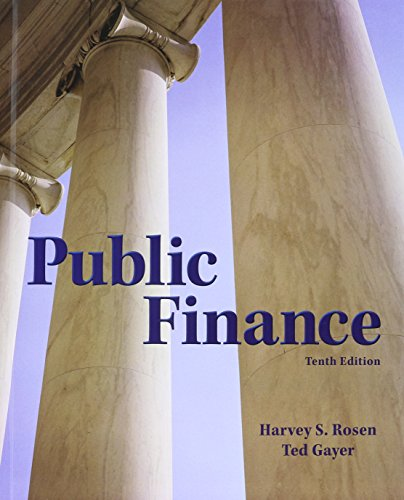 Compare Textbook Prices for Public Finance with Connect Access Card 10 Edition ISBN 9781259377211 by Rosen, Harvey,Gayer, Ted