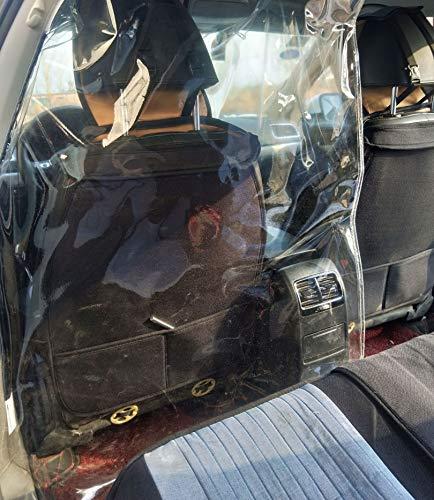 taxichauffeur Stoelhoezen Isolatiefilm Druppelbescherming Scheidingsgordijn Zelfklevende hoes